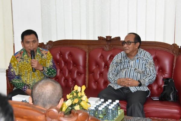 Kunjungan Kerja Pemkab bersama Ka. Dispendikbud Situbondo