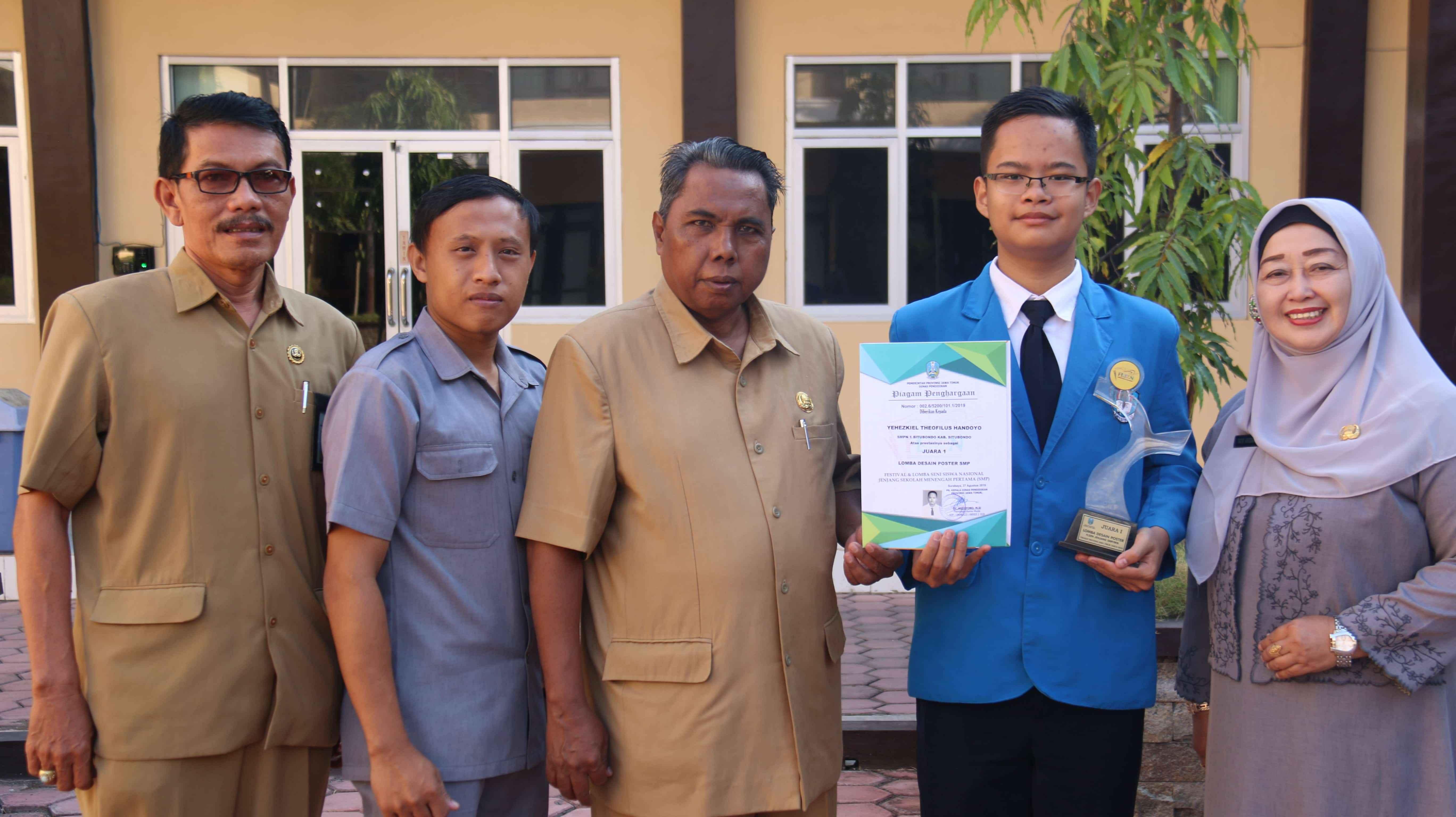 Kab. Situbondo mewakili Jawa TImur untuk FLS2N tingkat Nasional