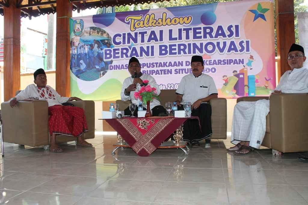 Kadispendik Jadi Nara Sumber Talk Show Literasi