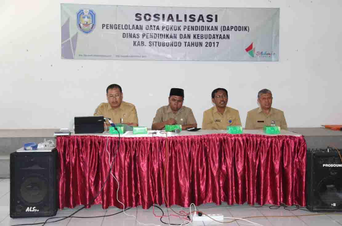Sosialisasi Dapodik 2017